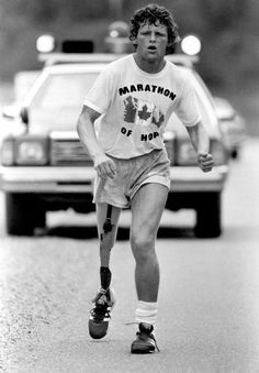 Thumbs Up: 35 years ago today on April 12th, 1980 the legendary Terry Fox started his historic run.