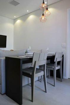 : Vila Nova Conceição 01: Salas de jantar escandinavas por Mmaverick Arquitetura