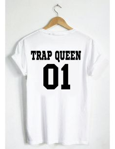 Trap Queen T-Shirt! Fetty Wap Jersey Style Tee. Unisex, Men Women. Hip Hop Music Instagram facebook tumblr pinterest twitter drake yeezy by SPARKEDclothing on Etsy