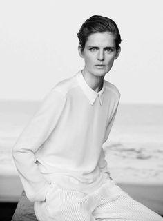 Giorgio Armani New Normal Spring-Summer 2016 Ad Campaign_Peter Lindbergh_Eva Herzigova, Nadja Auermann, Stella Tennant, Yasmin Le Bon