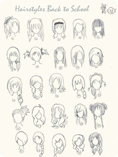 Top 9 Ombre Hairstyles for Back to School anime hairstyles