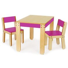 P'kolino - Little Ones Table & Chairs PKFFTC at 2Modern