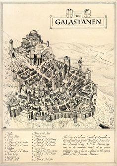 The City of Galastan by Blaidd--Drwg.deviantart.com on @deviantART