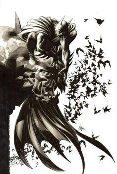 Batman by Mike Deodato Jr.....flawless! OMG look at it!
