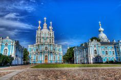 St. Petersburg, Russia ... Smolny Convent