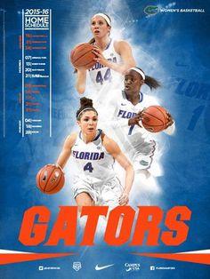 2015-16 Florida Women's Basketball Poster