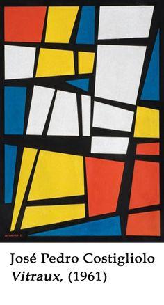 José Pedro Costigliolo geometric art