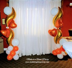 Balloon Columns, Balloon Decorations, Balloons, Classy, Holidays, Boutique, Elegant, Flowers, Party