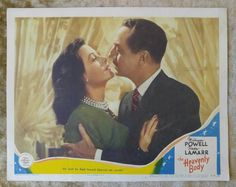 THE HEAVENLY BODY 1944 Original 11x14 Lobby Card #7 Movie Poster, HEDY LAMARR | Entertainment Memorabilia, Movie Memorabilia, Lobby Cards | eBay!