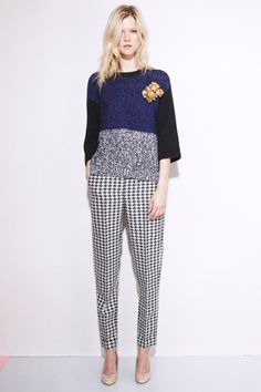 Stella McCartney resort 2012 collection. Love this. A little punk, a little grunge, a little 50s era. Perfect.