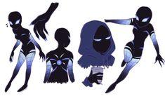 Resplendent Cartoon Drawing Tips Ideas Spider Art, Spider Verse, Spider Gwen, Costume Super Hero, Character Inspiration, Character Art, Superhero Design, Marvel Art, Cartoon Art