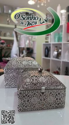 Caixa de Metal Quadrada
