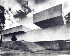 Villa Chapultepec México by architect Manuel González Rul 1968