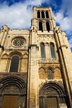 Portail de la basilique basilique cath drale de saint denis - Office tourisme saint denis ...