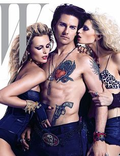 Tom Cruise, Rock of Ages, Movies, Fashion, W Magazine