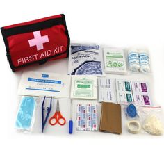 First Aid Kit 19 In 1 Outdoor Survival Safety Camping Tools Portable Functional Travel Kits Hiking Trekking Home First Aid Kits