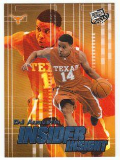 D.J. Augustin # II-9 - 2008 Press Pass Basketball Insider Insight Foil