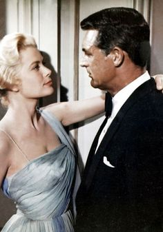 Grace Kelly & Cary Grant in Hitchcock's How to Catch a Thief