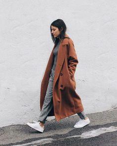 Roestkleurige jas