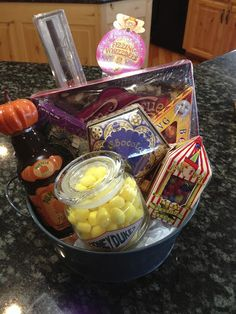 I Solemnly Swear That I Am Up To No Good: Harry Potter Gift Basket