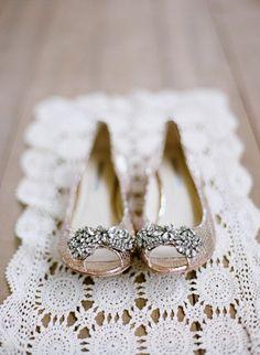 Cute wedding flats if heels get too painful