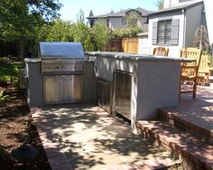 Have You Ever Imagine Having An Outdoor Kitchen Cabinets Waterproof Gray
