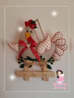 Fabric Crafts, Sewing Crafts, Sewing Projects, Craft Projects, Projects To Try, Cat Crafts, Easter Crafts, Diy And Crafts, Chicken Crafts
