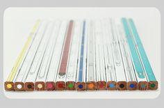 全個シリアルナンバー付の色鉛筆 新幹線いろえんぴつ