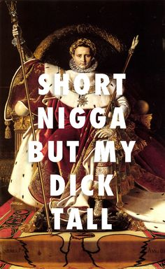 Shabbapoleon Napoleon I on his Imperial Throne, Jean Auguste Dominique Ingres (1806) / Shabba, A$AP Ferg