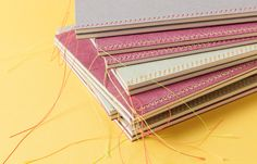 Mrs. Stitches by Ozan Akkoyun #binding #notebook #handmade
