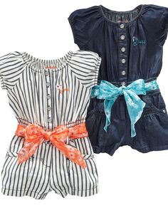 Rompers ! Love the,striped one