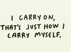 Carry on!!