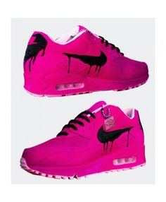 the best attitude 43b6a 9eb49 Nike Air Max 90 Candy Drip Pink Black Running Shoes Sell at a Discount Mens  Training