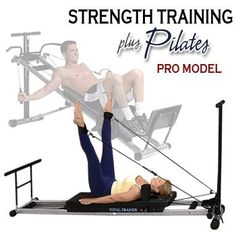 Bayou Fitness Total Trainer Pilates Reformer Home Gym Pro is truly an extraordinary machine with great gym quality strength & circuit training options for men & women plus an excellent Pilates program. Pilates Reformer, Pilates Workout, Circuit Training, Strength Training, Total Gym Workouts, Home Gym Machine, Gym Machines, Easy Weight Loss, Lose Weight