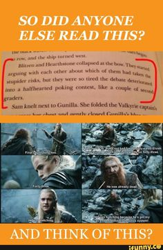 """MY FIRST THOUGHT WHEN RICK MENTIONED THAT HEARTH AND BLITZ WERE ELF AND DWARF WAS """"THIS REMINDS ME OF LEGOLAS AND GIMLI"""" RICK RIORDAN AND LOTR IS BASICALLY VALHALLA TO ME"""