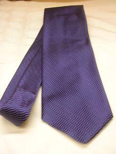 Hunt Club Men's Neck Tie 100% Silk Made in Italy Navy Blue  #HuntClub #Tie