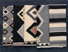 Limited edition IKEA Kilim rugs via that nordic feeling