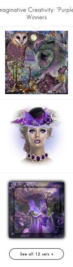 """Imaginative Creativity: ""Purple"" Winners"" by majezy ❤ liked on Polyvore featuring art, Ciel, purple, beauty, Surratt, Giorgio Armani, NARS Cosmetics, Lipstick Queen, Bobbi Brown Cosmetics and Rodo"