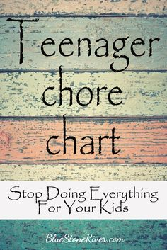 Raising Teenagers: Doing things yourself just seems easier, but it's time to get your teens to pull their share. Here's a great start to teaching personal responsibility and creating a self-sustaining adult. Chore Chart Teenagers, Teen Chore Chart, Family Chore Charts, Raising Teenagers, Parenting Teenagers, Parenting Advice, Parenting Books, Teenage Chores, Chores For Kids By Age