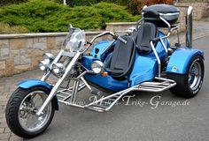 Custom Trikes, Custom Harleys, Custom Cars, Harley Davidson Motorcycles, Cars And Motorcycles, Vw Trikes For Sale, Peugeot, Mustang, Volvo