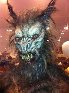 Werewolf Mask. Transworld Halloween & Haunt Show 2012.