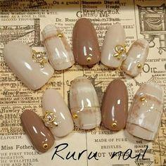 Classy Nails, Cool Nail Art, Nail Arts, Swag Nails, Nail Art Designs, Gel Nails, Pattern Design, Hair Beauty, Instagram Posts
