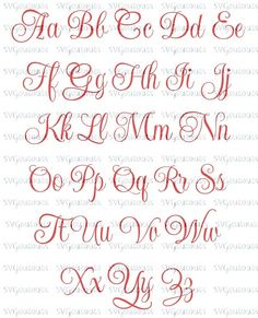 Elegant script monogram font design svg eps dxf formats file for your cutting machines silhouet This Elegant Script Monogram Font Design SVG Eps Dxf Formats is just one of the custom, handmade pieces you'll find in our patterns & how to shops. Alphabet Script, Alphabet Cursif, Fonte Alphabet, Hand Lettering Alphabet, Script Lettering, Alphabet Design, Script Tattoos, Tattoo Fonts Alphabet, Preschool Alphabet