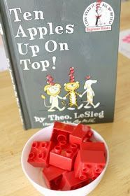 6 Go Along Activities for 10 Apples Up On Top by Dr Seuss