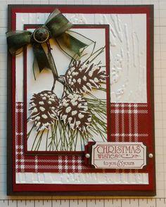 Oct 2014 SU Ornamental Pine Xmas - Magnolia's Place: Christmas Is Coming
