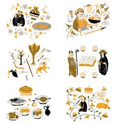 Harriet Russell | Illustrator | Central Illustration Agency #decorative #detail…