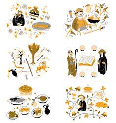 Harriet Russell | Illustrator | Central Illustration Agency #decorative #detail #pattern #illustration