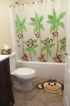Kids Monkey Bathroom