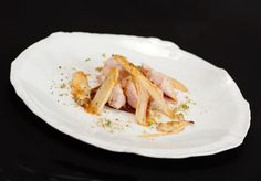Filets de lapin et asperges rôtis
