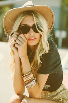 boho chic straw hat socal